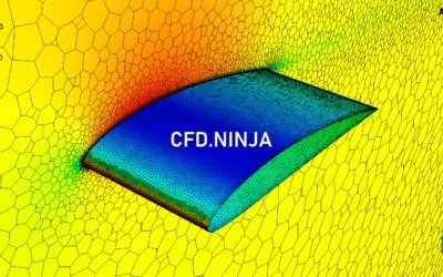 Ansys Fluent – Airfoil 3D (NACA 4412)