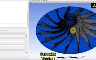 Ansys BladeGen – How to Meshing using Turbogrid?