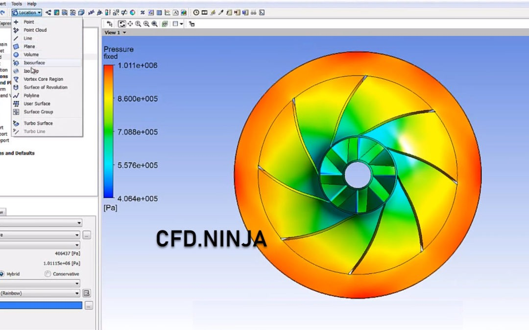 Ansys CFX – Centrifugal Pump & Cavitation