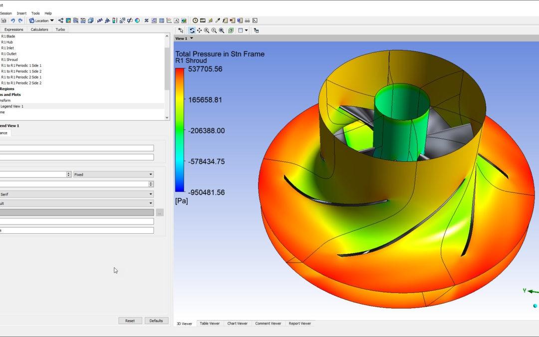 BladeGen + Turbogrid + Ansys CFX – Centrifugal Pump