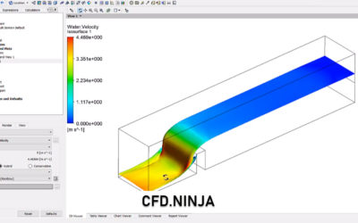 Ansys CFX – Free Surface 3D