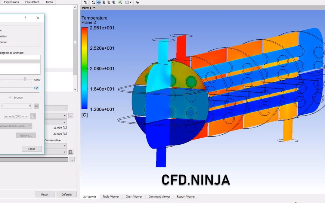 Ansys CFX – Heat Exchanger (Shell & Tubes)
