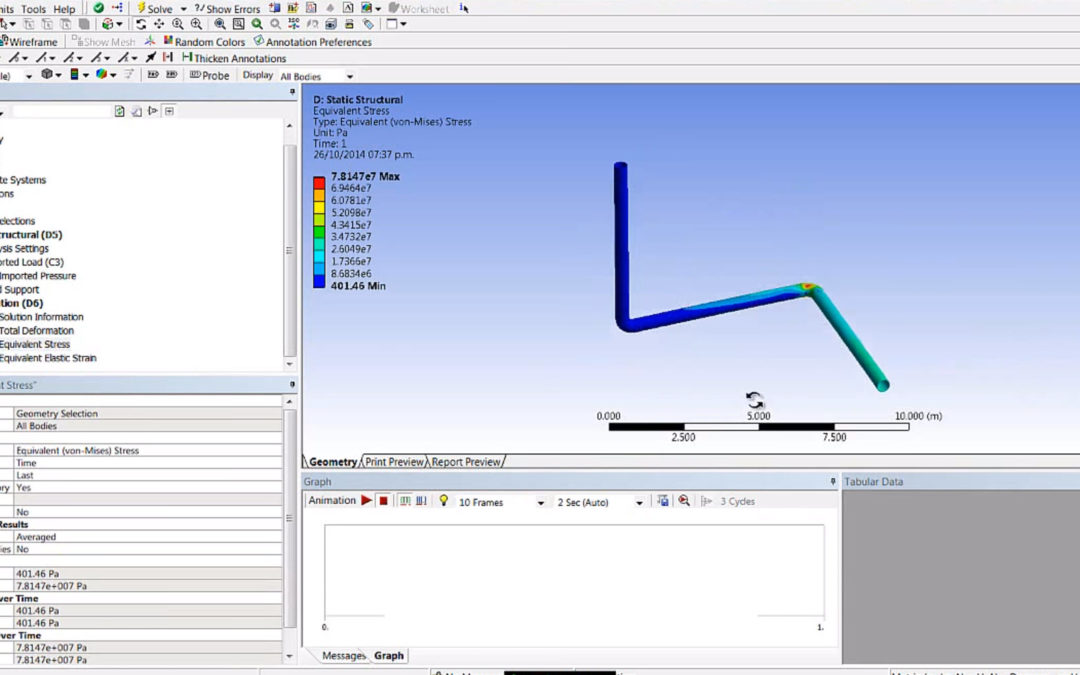 Ansys CFX – Import Pressure to Ansys Mechanical (FSI)
