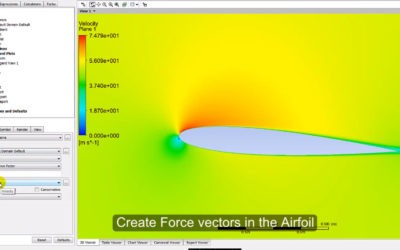 Ansys CFX – NACA 0012 with Angle of Attack (AOA)