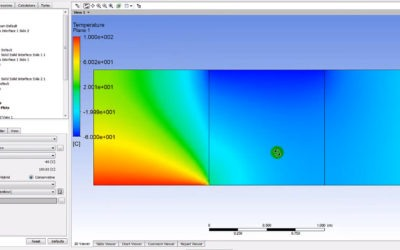 Ansys CFX – Heat Transfer Solid/Solid
