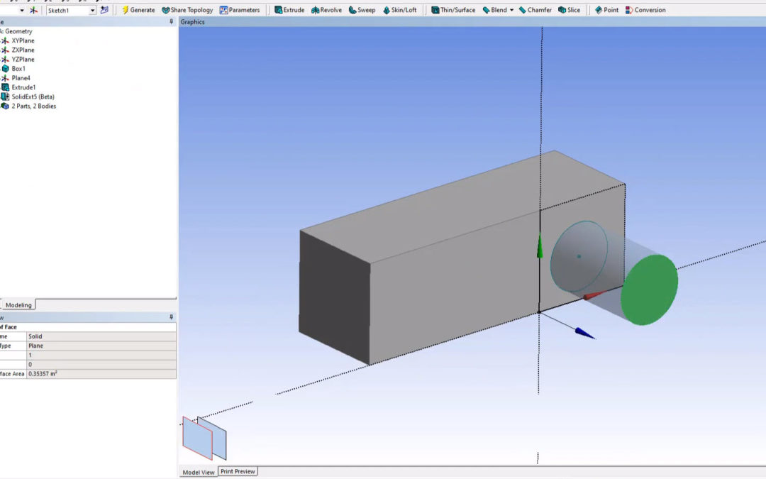Ansys DesignModeler – Ansys Beta Options (Solid Extension)