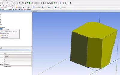 Ansys DesignModeler – Blend & Chamfer