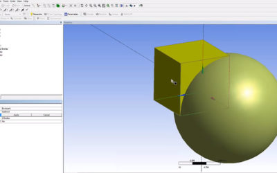 Ansys DesignModeler – Boolean