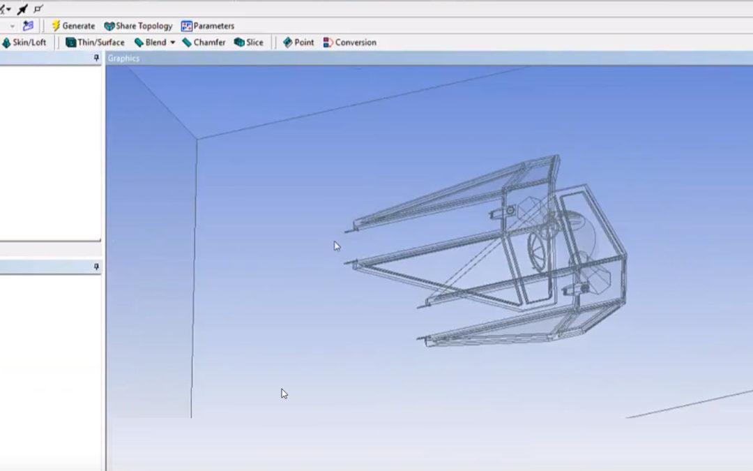 Ansys DesignModeler – Enclosure