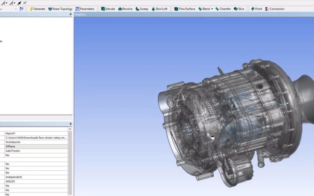 Ansys DesignModeler – Import from Autodesk Inventor to ANSYS Design Modeler directly