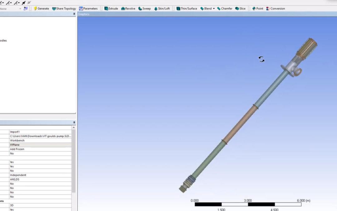 Ansys DesignModeler – Import from SOLIDWORKS to DesignModeler