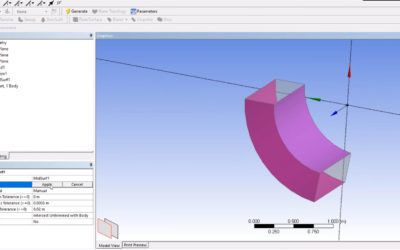 Ansys DesignModeler – Mid-Surface