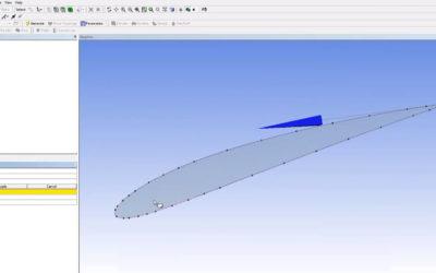 Ansys DesignModeler – NACA Airfoil