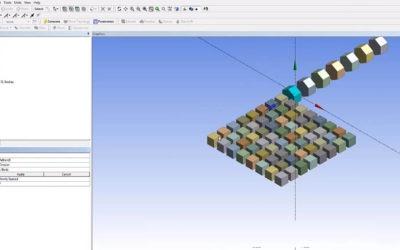 Ansys DesignModeler – Pattern & Array