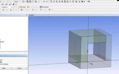 Ansys DesignModeler – Slice