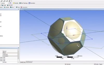 Ansys DesignModeler – Tetrakaidecahedron