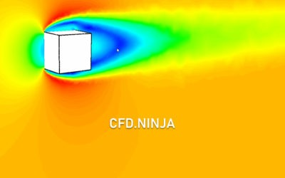 Ansys Fluent – Drag Coefficient (Reference Values) Cube 3D