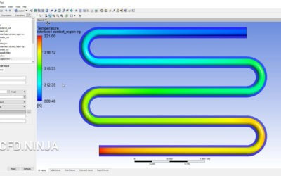 Ansys Fluent – Heat Transfer & Counter Flow