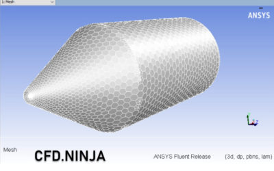 Ansys Fluent – Polyhedral Mesh