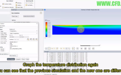 Ansys Fluent – UDF (User-Defined Function) Temperature Profile