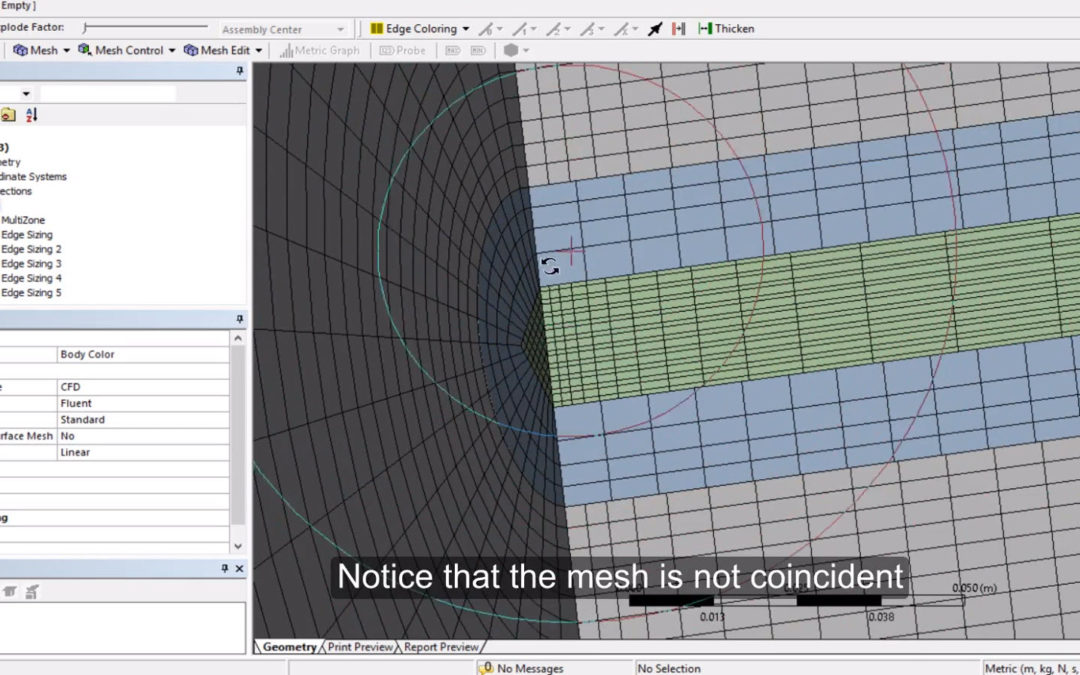 Ansys Meshing – Hexahedral Mesh (Pipe)