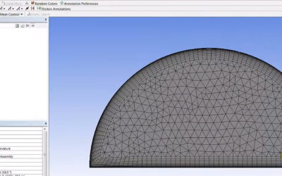 Ansys Meshing – Inflation