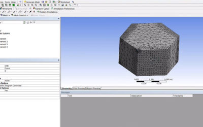 Ansys Meshing – Refinement Mesh