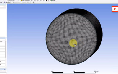 Ansys Meshing – Multizone + Inflation + Face Meshing