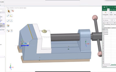 Ansys SpaceClaim – Parameterizing using Excel