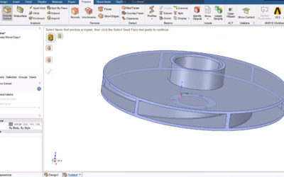 Ansys SpaceClaim – Volume Extract