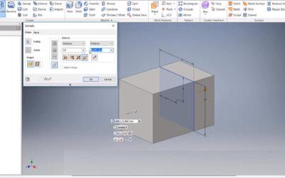 Autodesk Inventor – Extrude
