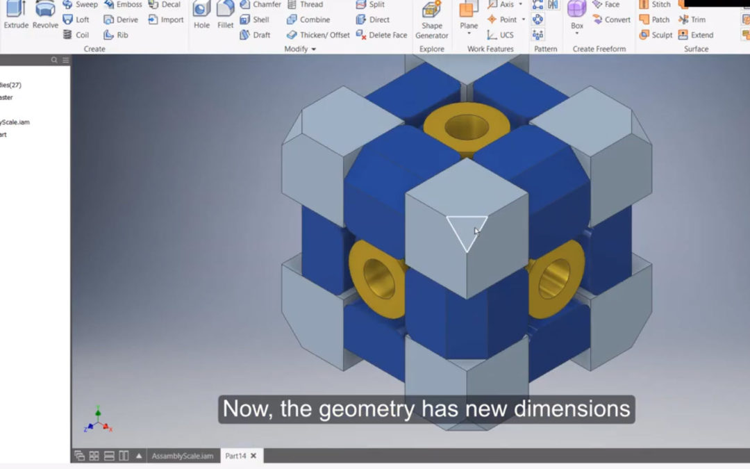 Autodesk Inventor – Scale Assembly