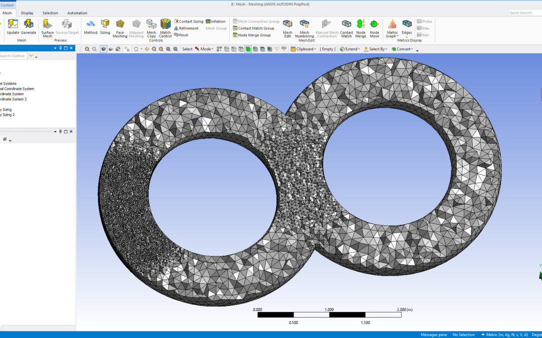 Ansys Meshing – Sphere of Influence