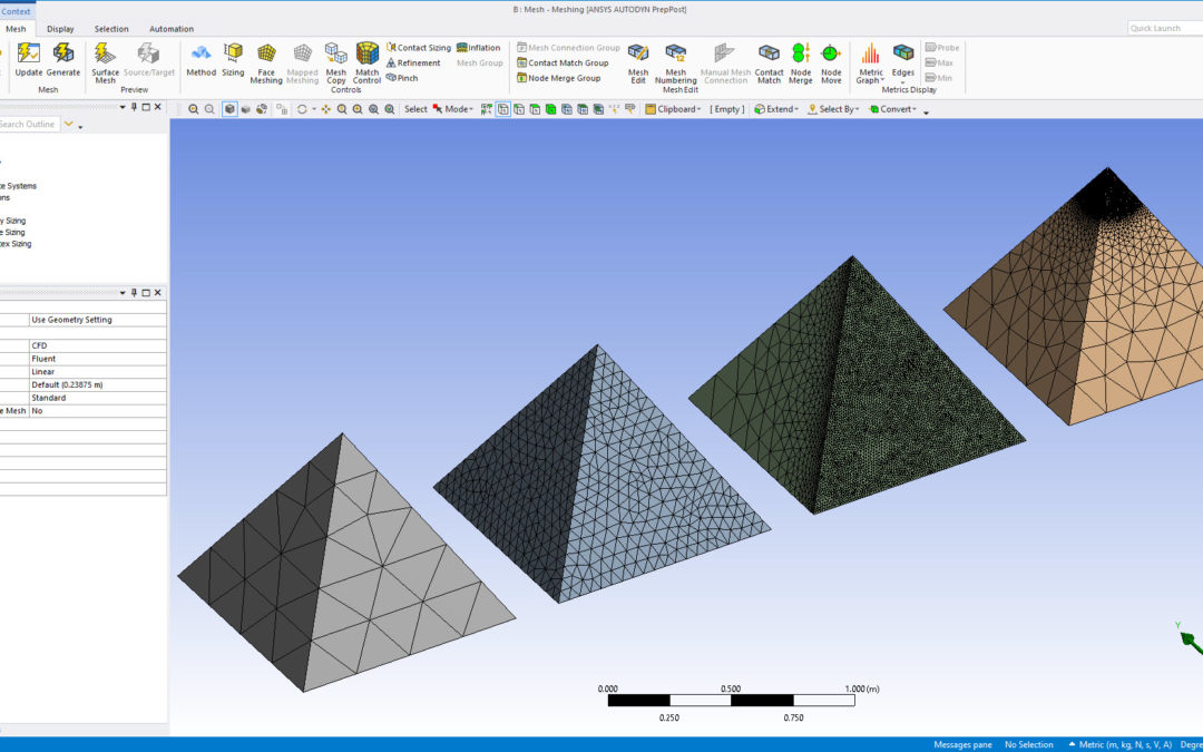 Ansys Meshing – Sizing