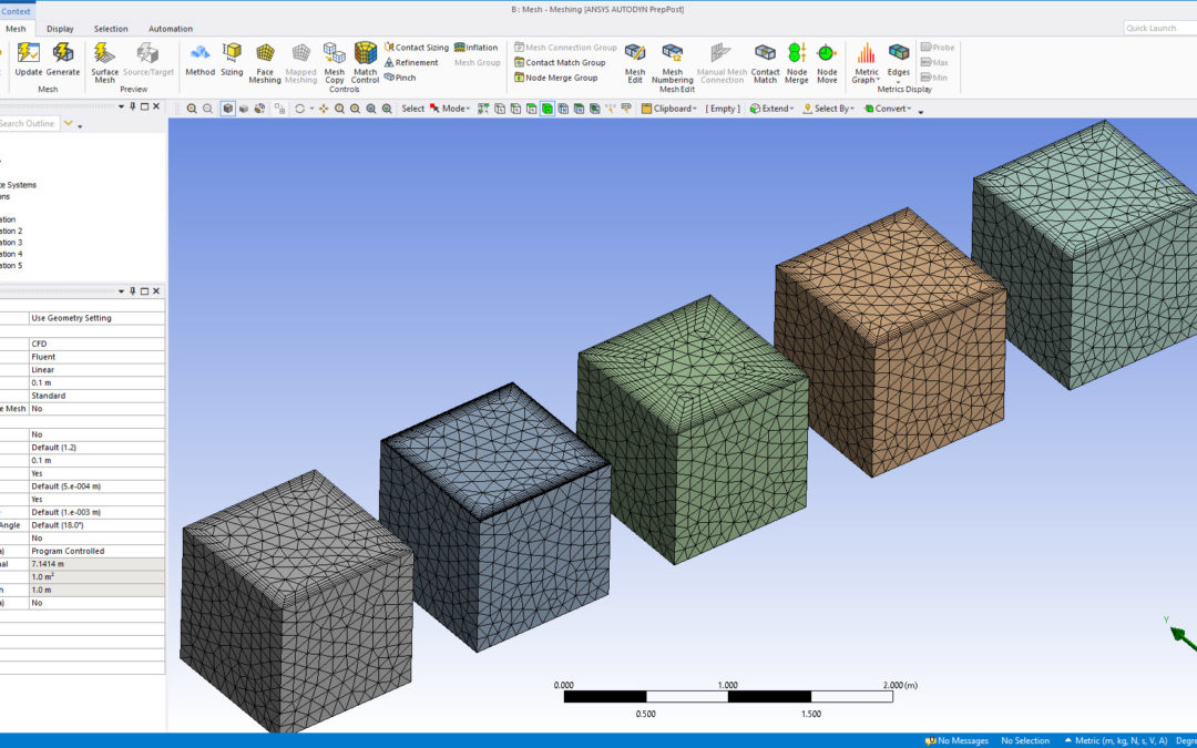 Ansys Meshing | Inflation