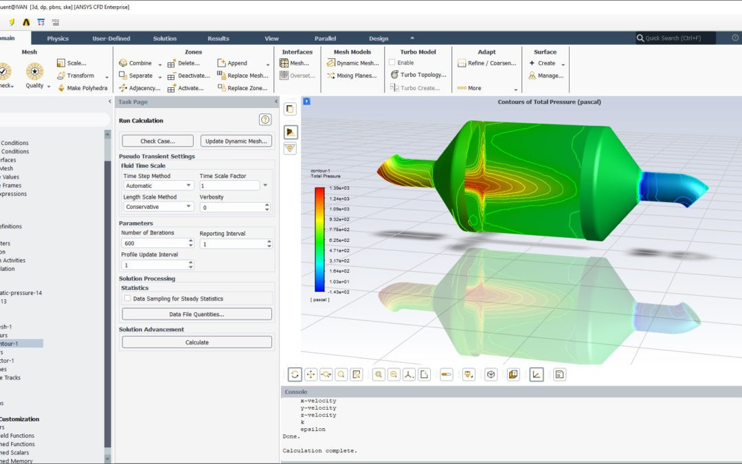 Ansys Fluent | Flow Through Porous Media