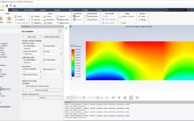 Ansys Fluent | Heat Transfer between plates