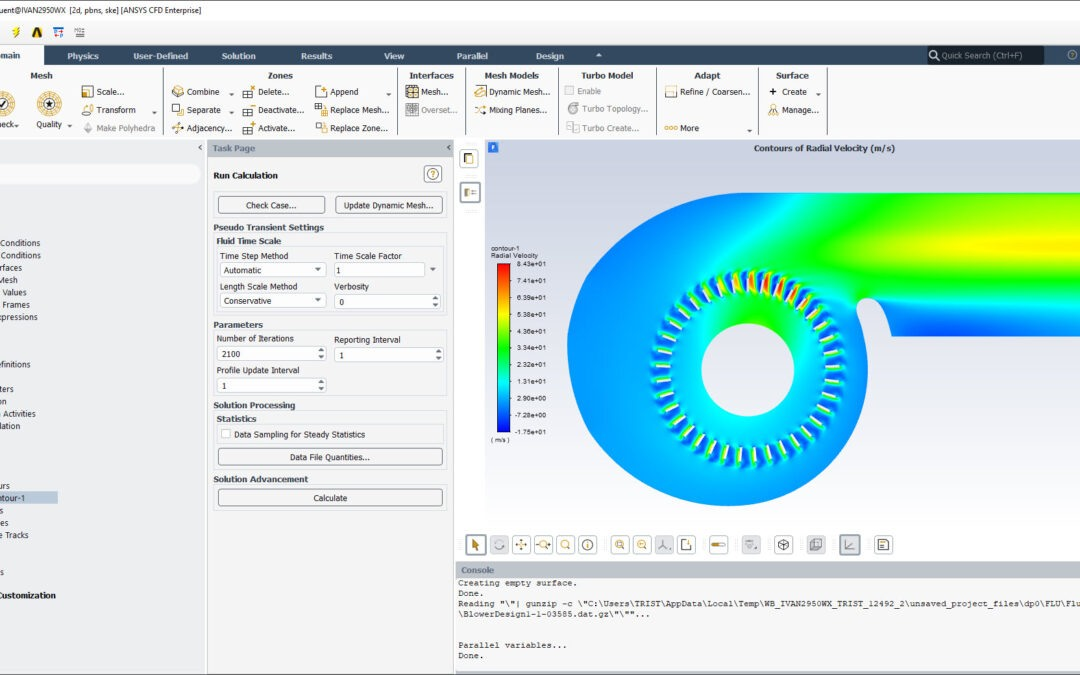 Ansys Fluent Tutorial – Blower