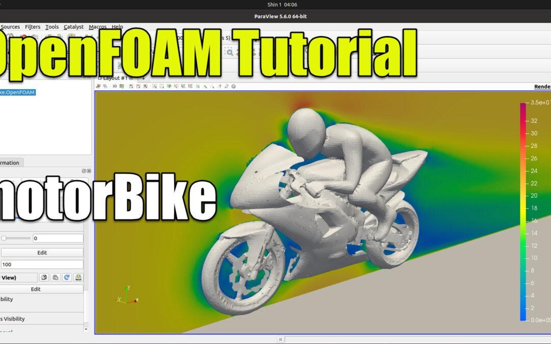 OpenFOAM Tutorial | motorBike (simpleFoam)